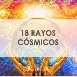 18 RAYOS DE LUZ CÓSMICOS - SISTEMA CON SÍMBOLOS