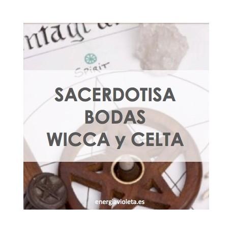 SACERDOTISA DE BODAS WICCA O CELTA
