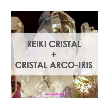 CRISTAL REIKI + CRISTAL ARCO-IRIS REIKI