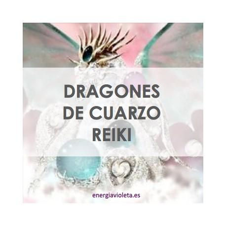 DRAGONES DE CUARZO REIKI
