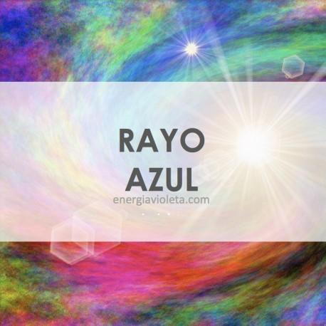 CÍRIO ALQUÍMICO - RAYO AZUL