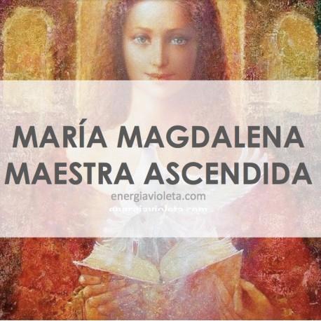 MARÍA MAGDALENA MAESTRA ASCENDIDA