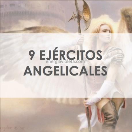 EJÉRCITOS ANGELICALES, 9 COROS, EJÉRCITOS CELESTIALES, ALQUIMIA