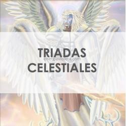 TRIADAS CELESTIALES DE ÁNGELES DE LOS NUEVE COROS - ALQUIMIA